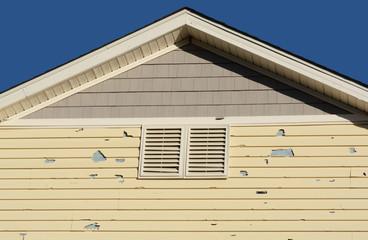 Alamosa Hail damage
